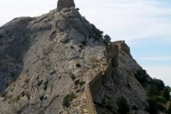 Лестница Генуезская крепость (Судак)