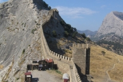 стена от Консульской к сторожевой башне